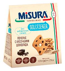 Без добавления сахара -<br> С кусочками шоколада