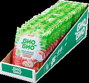 Каша овсяная Био-Био с клубникой и молоком